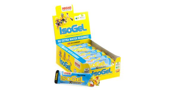 High5 IsoGel X'tream Sportvoeding met basisprijs Tropical 25 x 60ml geel/blauw